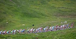 04.07.2012, Osttirol, AUT, 64. Oesterreich Rundfahrt, 4. Etappe, Lienz - St. Johann Alpendorf, im Bild // during the 64rd Tour of Austria, Stage 4, from Lienz to St. Johann Alpendorf, Lienz, Austria on 2012/07/04. EXPA Pictures © 2012, PhotoCredit: EXPA/ Johann Groder