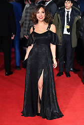 Myleene Klass attending the european premiere of Star Wars: The Last Jedi held at The Royal Albert Hall, London. Photo credit should read: Doug Peters/EMPICS Entertainment