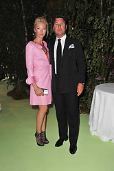 GIORGIO & TAMARA VERONI at a dinner hosted by Cartier in celebration of the Chelsea Flower Show held at Battersea Power Station, 188 Kirtling Street, London SW8 on 23rd May 2011.