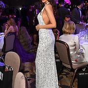 Roksana Slyahtitch of Miss USSR UK 2014 attend the Grand Final MISS USSR UK 2019 at Hilton hotel London on 27 April 2019, London, UK.