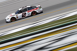 July 13, 2018 - Sparta, Kentucky, United States of America - Brad Keselowski (2) brings his race car down the front stretch during practice for the Quaker State 400 at Kentucky Speedway in Sparta, Kentucky. (Credit Image: © Chris Owens Asp Inc/ASP via ZUMA Wire)
