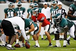 Philadelphia Eagles quarterback Kevin Kolb #4 during the Philadelphia Eagles NFL Flight Night at Lincoln Financial Field in Philadelphia, Pennsylvania on Sunday August 2nd 2009. (Photo by Brian Garfinkel)