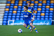 AFC Wimbledon midfielder Ethan Chislett (11) dribbling during the EFL Sky Bet League 1 match between AFC Wimbledon and Hull City at Plough Lane, London, United Kingdom on 27 February 2021.
