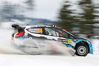 MOTORSPORT - WORLD RALLY CHAMPIONSHIP 2012 - RALLY SWEDEN / RALLYE DE SUEDE - 08 TO 12/02/2012 - KARLSTAD (SWE) - PHOTO : FRANCOIS BAUDIN /  DPPI - BRYNDILSEN FORD FOCUS WRC ACTION