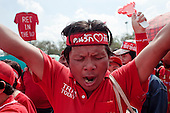 The Red Shirts' Protest in Bangkok