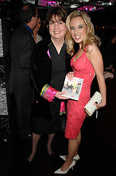 Left to right, SARAH HUGILL and her daughter IMOGEN LLOYD WEBBER at a party to celebrate her 30th birthday and the launch of her Single Girl's Guide held at Vilstead, 9 Swallow Street, London on 27th March 2007.<br />