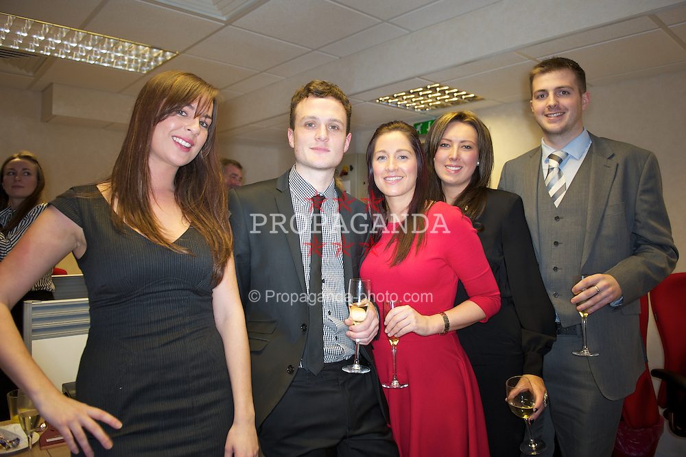 Staff and clients at the opening of Paul Crowley & Co. Solicitors' new office on Breck Road.