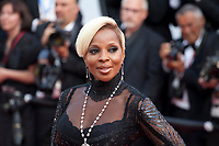 Mary J. Blige at The Meyerowitz Stories gala screening at the 70th Cannes Film Festival Sunday 21st May 2017, Cannes, France. Photo credit: Doreen Kennedy