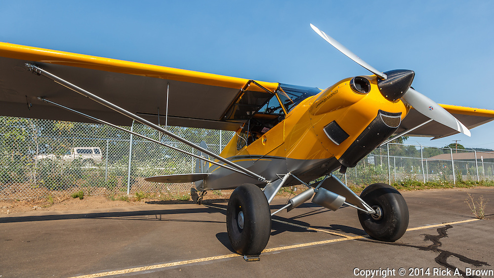 Carbon Cub at Oregon Aviation Historical Society.