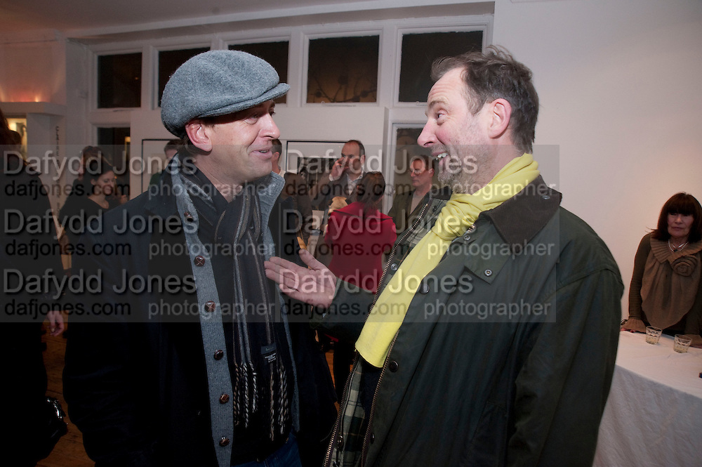 SCOTT DOUGLAS; GARY HUME, The  launch of Johnnie Shand Kydd's book Siren City. ( Photographs of Naples) Claire<br /> de Rouen books published  by Other Criteria. Charing Cross Rd. London. 30 November 2009