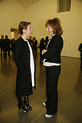 Julia Peyton-Jones, Sam Taylor Wood, Ellsworth Kelly exhibition opening. Serpentine Gallery and afterwards at the River Cafe. London. 17 March 2006. ONE TIME USE ONLY - DO NOT ARCHIVE  © Copyright Photograph by Dafydd Jones 66 Stockwell Park Rd. London SW9 0DA Tel 020 7733 0108 www.dafjones.com
