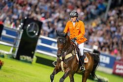 GREVE Willem (NED), Zypria S<br /> Aachen - CHIO 2019<br /> Mercedes-Benz Nationenpreis<br /> Mannschaftsspringprüfung mit zwei Umläufen<br /> 2. Runde/Second Round<br /> 18. Juli 2019<br /> © www.sportfotos-lafrentz.de/Stefan Lafrentz