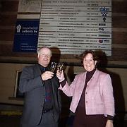 Start bouw nieuwe vleugel Goois Museum Kerkbrink Hilversum, provinciaal gedeputeerde Neefs en