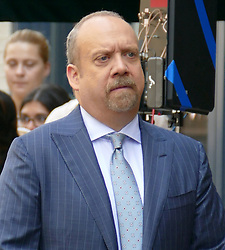 "EXCLUSIVE: ""Billions"" star Paul Giamatti seen filming seen in New York. 05 Sep 2018 Pictured: Paul Giamatti. Photo credit: KAT / MEGA TheMegaAgency.com +1 888 505 6342"
