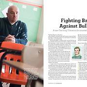 Jamie Nabozny, subject of a documentary film on bullying, in Teaching Tolerance Magazine.
