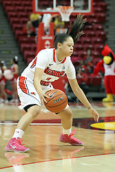 03 March 2013:  Alexis Jenkins during an NCAA Missouri Valley Conference (MVC) women's basketball game between the Missouri State Bears and the Illinois Sate Redbirds at Redbird Arena in Normal IL