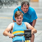 1:14 PM- Grassroots Trust #22 Heat 1- Men?s 1000m U16, U17<br /> <br /> NZ Indoor Champs, raced at Avanti Drome, Cambridge, New Zealand, Saturday 23rd November 2019 © Copyright Steve McArthur / @rowingcelebration www.rowingcelebration.com