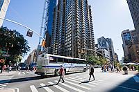 midtown in New york City in October 2008