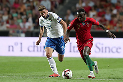 September 10, 2018 - Lisbon, Portugal - Portugal's forward Bruma vies with Italy's forward Domenico Berardi during the UEFA Nations League A group 3 football match Portugal vs Italy at the Luz stadium in Lisbon, Portugal on September 10, 2018. (Credit Image: © Pedro Fiuza/ZUMA Wire)