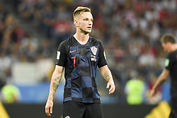 July 1, 2018 - Nizhny Novgorod, Russia - Ivan Rakitic of Croatia during the 2018 FIFA World Cup Round of 16 match between Croatia and Denmark at Nizhny Novgorod Stadium in Nizhny Novgorod, Russia on July 1, 2018  (Credit Image: © Andrew Surma/NurPhoto via ZUMA Press)