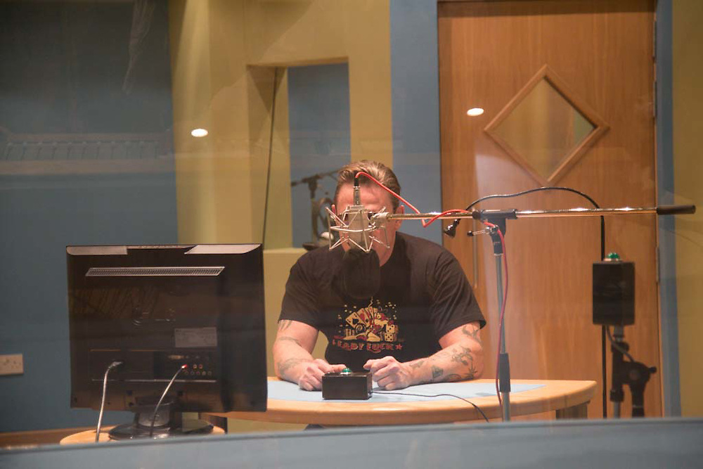 Production stills of Tony Pitts' new BBC Radio 4 play titled 'Monsters'. Airing 26th March 2015.