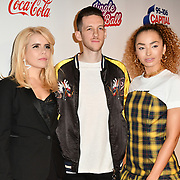 Paloma Faith,Sigala and Ella Eyre arrives at Capital's Jingle Bell Ball with Coca-Cola at London's O2 Arena on 9th December 2018, London, UK.