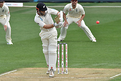March 23, 2018 - Auckland, Auckland, New Zealand - Kane Williamson of Blackcaps bats during Day Two of the First Test match between New Zealand and England at Eden Park in Auckland on Mar 23, 2018. (Credit Image: © Shirley/Pacific Press via ZUMA Wire)
