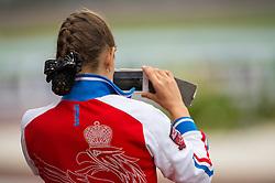 Team RUS - Individual Test Grade IV Para Dressage - Alltech FEI World Equestrian Games™ 2014 - Normandy, France.<br /> © Hippo Foto Team - Jon Stroud <br /> 25/06/14