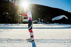 January 31, 2018 - Goms, SWITZERLAND - 180131 Amalie HÅ'konsen Ous of Norway competes in the women's 10km classic technique interval start during the FIS U23 Cross-Country World Ski Championships on January 31, 2018 in Obergoms..Photo: Vegard Wivestad GrÂ¿tt / BILDBYRN / kod VG / 170090 (Credit Image: © Vegard Wivestad Gr¯Tt/Bildbyran via ZUMA Press)