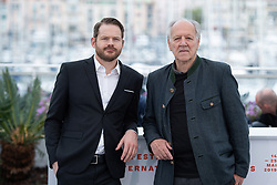 Roc Morin and Werner Herzog attending the Family Romance Photocall as part of the 72nd Cannes International Film Festival in Cannes, France on May 19, 2019. Photo by Aurore Marechal/ABACAPRESS.COM