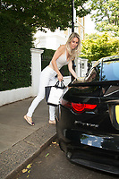 Leila Russack spotted out in london