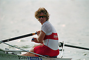 St Catherines, CANADA,  Women's Single Sculls. CAN W1X. Marnie McBEAN, competing at the 1999 World Rowing Championships - Martindale Pond, Ontario. 08.1999..[Mandatory Credit; Peter Spurrier/Intersport-images]  .. 1999 FISA. World Rowing Championships, St Catherines, CANADA