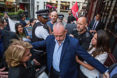 2019-07-12 IWGB London Living Wage protest at 5 Hertford St/Loulou's