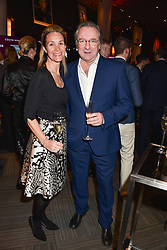 28 January 2020 - Vanessa Woodard and Neil Pearson at the Costa Book Awards 2019 held at Quaglino's, 16 Bury Street, London.<br /> <br /> Photo by Dominic O'Neill/Desmond O'Neill Features Ltd.  +44(0)1306 731608  www.donfeatures.com