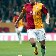Galatasaray's Milan Baros during their Turkish Super League soccer match Galatasaray between Manisaspor at the TT Arena at Seyrantepe in Istanbul Turkey on Wednesday, 21 December 2011. Photo by TURKPIX
