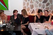 Rosario Saxe Coburg ; SCOTT DOUGLAS; NATALIA VODIANOVA; TRACEY EMIN; STELLA MCCARTNEY, Prada Congo Benefit party. Double Club. Torrens Place. Angel. London. 2 July 2009.
