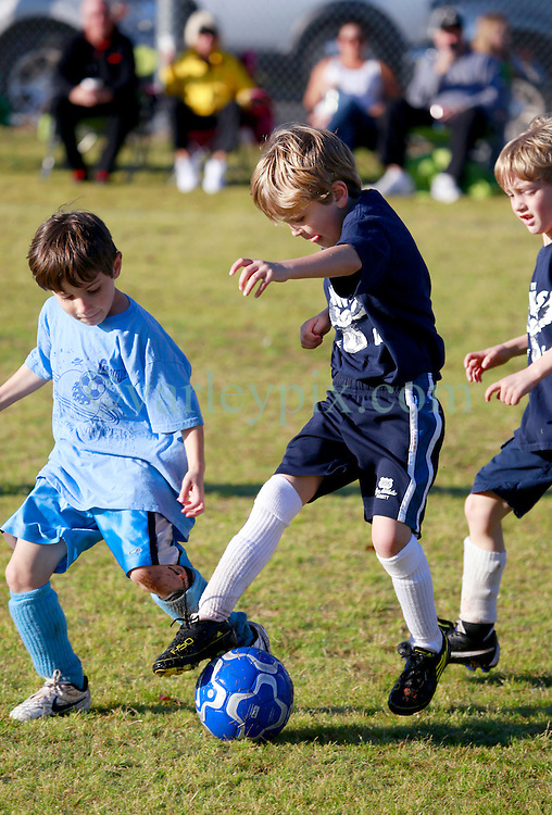 16 March 2013. New Orleans, Louisiana,  USA. .Carrolton Boosters Soccer. Under 8's. The Owls play the Flying Saucers. Owls end the season undefeated. .Photo; Charlie Varley.