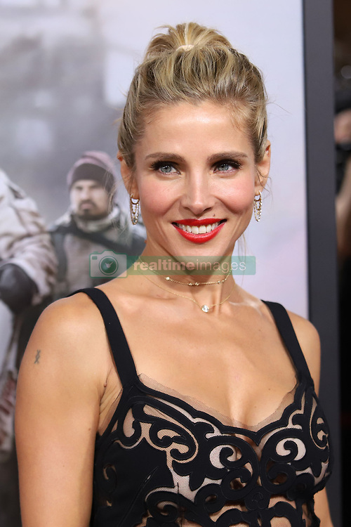 """Elsa Pataky attends the premiere of """"12 Strong"""" at Jazz at Lincoln Center's Frederick P. Rose Hall in New York"""