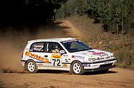 Andrew Pannam & Peter Mignot - Nissan Sunny GTi - Saxon Safari Tasmania - ARC- 11th-12th September 1999