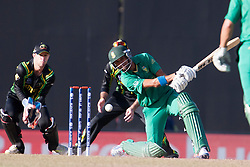 © Licensed to London News Pictures. 30/09/2012. South African Robin Peterson batting during the T20 Cricket World super 8's match between Australia Vs South Africa at the R Premadasa International Cricket Stadium, Colombo. Photo credit : Asanka Brendon Ratnayake/LNP