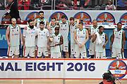 DESCRIZIONE : Milano BEKO Final Eigth 2015-16 Olimpia EA7 Emporio Armani Milano Sidigas Scandone Avellino<br /> GIOCATORE : Sidigas Avellino<br /> CATEGORIA : postgame esultanza premiazione<br /> SQUADRA : Sidigas Avellino<br /> EVENTO : BEKO Final Eight 2015-2016 GARA : Olimpia EA7 Emporio Armani Milano Sidigas Scandone Avellino <br /> DATA : 21/02/2016 <br /> SPORT : Pallacanestro <br /> AUTORE : Agenzia Ciamillo-Castoria/G.Masi<br /> Galleria : Lega Basket A 2015-2016<br /> Fotonotizia : Milano Final Eight 2015-16 Olimpia EA7 Emporio Armani Milano Sidigas Scandone Avellino