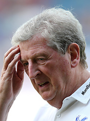 Crystal Palace manager Roy Hodgson during a pre season friendly match at The Kassam Stadium, Oxford.