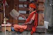 India, Vashisht near Manali, Kullu District, Himachal Pradesh, Northern India, inside the temple
