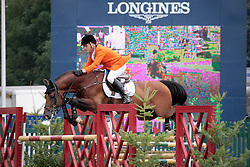 Thijssen Leon (NED) - Tyson<br /> FEI Nations Cup of England<br /> The Longines Royal International Horse Show Hickstead 2011<br /> © Hippo Foto - Beatrice Scudo