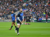 Rugby Union - 2020 Six Nations - England Open Training Session, Twickenham<br /> <br /> England's Elliot Daly during the Open Training Session, at Twickenham Stadium<br /> <br /> COLORSPORT/ASHLEY WESTERN
