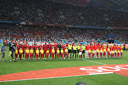 June 15, 2018 - Sochi, Russia - June 15, 2018, Russia, Sochi, FIFA World Cup, First round, Group B, Portugal vs Spain at Fisch Stadium. Player of the national team (Credit Image: © Russian Look via ZUMA Wire)