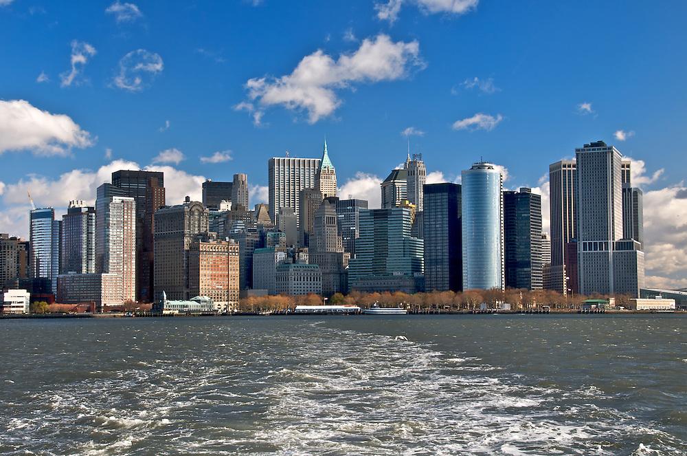 Manhattan Skyline, November 2008