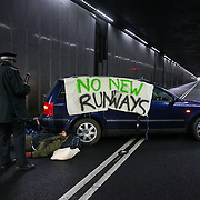 Rising Up! Heathrow tunnel action Feb 2017