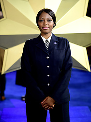 PC Khafi Kareem attending the Captain Marvel European Premiere held at the Curzon Mayfair, London. Picture date: Wednesday February 27, 2019. Photo credit should read: Ian West/PA Wire
