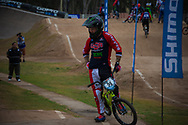 #95 (NOBLES Barry) USA  at the 2014 UCI BMX Supercross World Cup in Santiago Del Estero, Argentina.